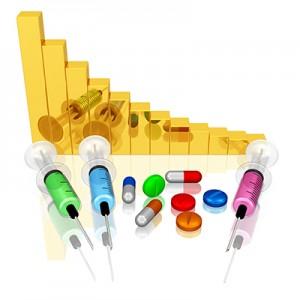 Kursentwicklung, Pharmabranche, Medikamente